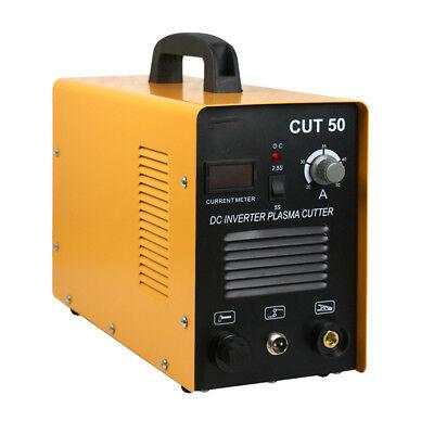 Portable Air Plasma Cutter Electric Inverter Digital Cutting Machine 50amp Cut50