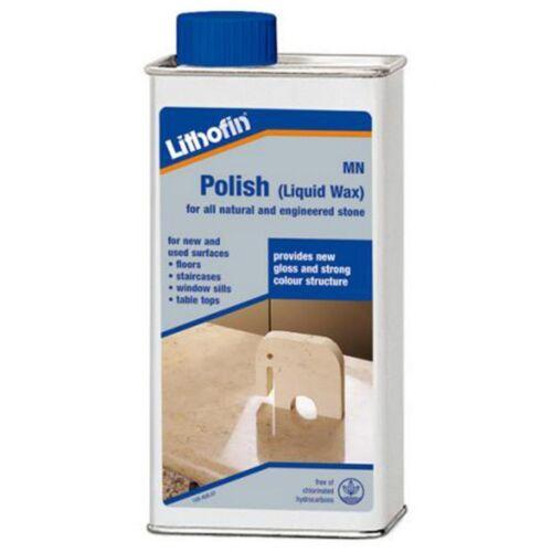 Lithofin MN Polish (Liquid) For Slate/Marble/Stone/Granite