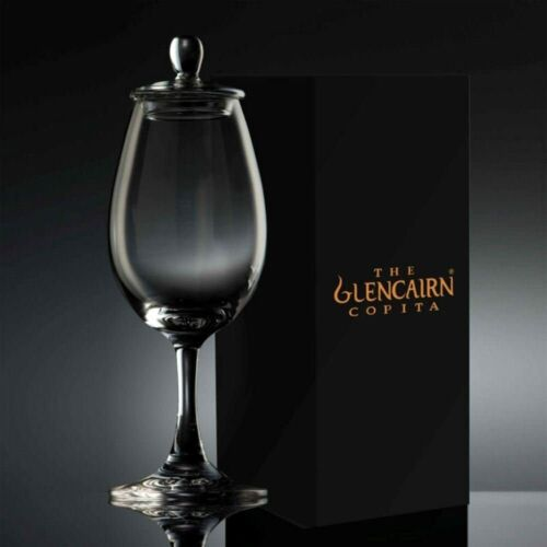 GLENCAIRN SCOTCH WHISKY COPITA NOSING GLASS WITH GINGER JAR TOP