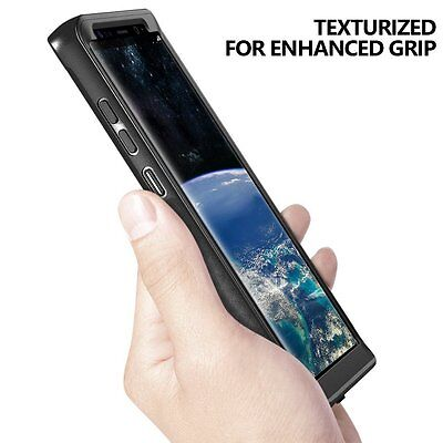 For Galaxy Note 8  2017  Case Black Poetic Revolution Built In Screen Protector