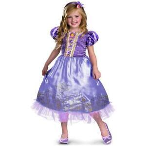 Disguise Halloween Costume Disney's Tangled Rapunzel Girl's Princess XS 3T-4T