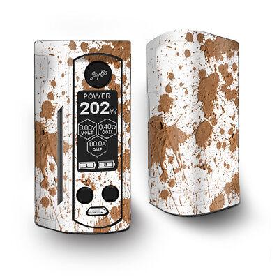 Skin Decal for Wismec Reuleaux RX Gen3 Dual Vape / Mud Splatter dirty dirt
