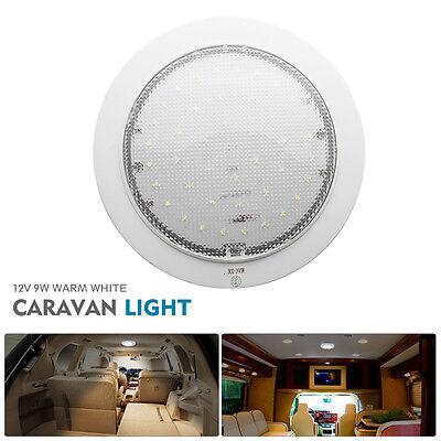 12V Ceiling Light LED Fixture for Caravan/Motorhome/Trailer/Boat Surface Mount