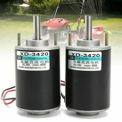 Xd-3420 1224v 30w Permanent Magnet Dc Motor High Speed Cwccw For Diy Generator