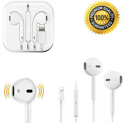 Gift For Apple iPhone 7 8 Plus X XS MAX XR Wired Headset Headphones Earbuds NEW