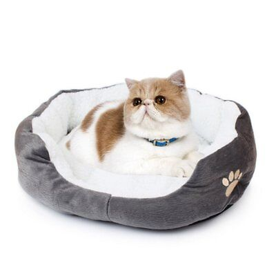 Pet Bed Soft Warm Sofa Nest Cushion for Dogs Cat Washable Fluffy Bed 50*40*14cm