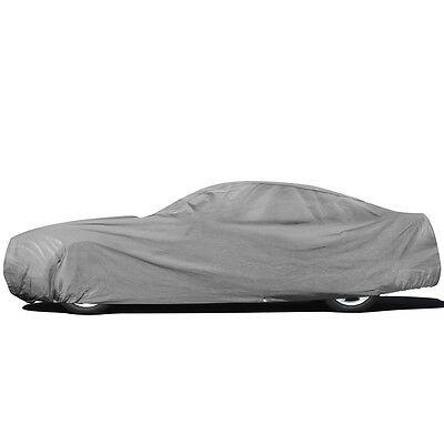 4-Layers Full Car Cover for OutDoor Sun Dust Scratch Rain WaterProof Breathable