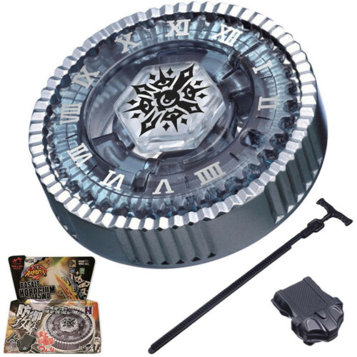 Twisted Tempo / Basalt Horogium Beyblade BB-104 145WD STARTER SET WITH LAUNCHER!