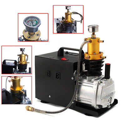 220v Auto Stop Pcp 30mpa 4500psi High Pressure Paintball Electric Air Compressor