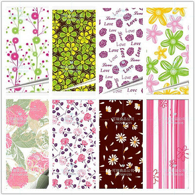 DIY Chocolate Transfer Sheets Cake Decoration Paper 13