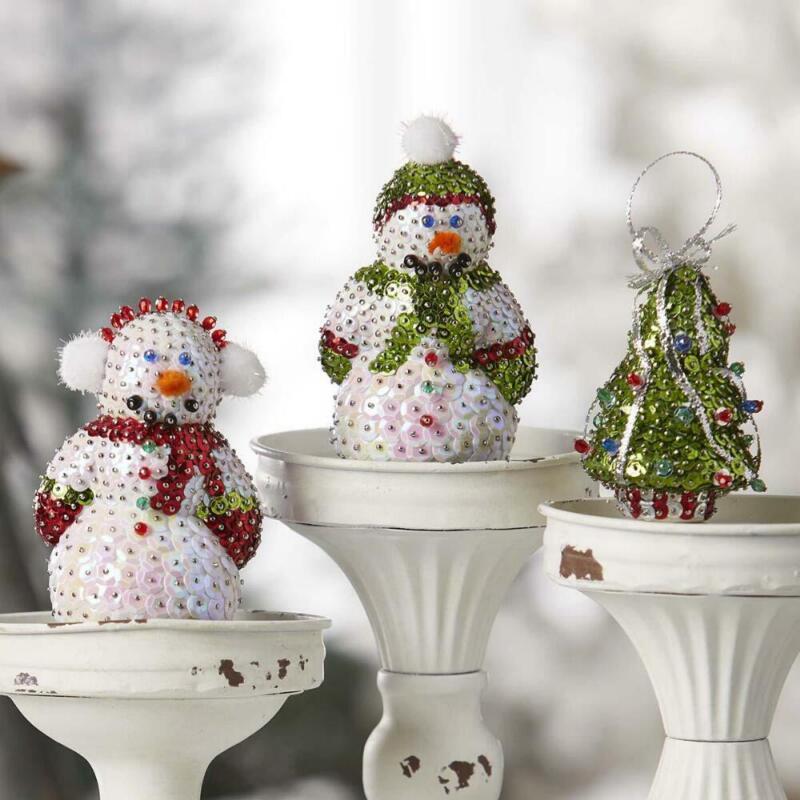 Sunrise Craft & Hobby™ Snow Bros Sit Set Ornament Kit