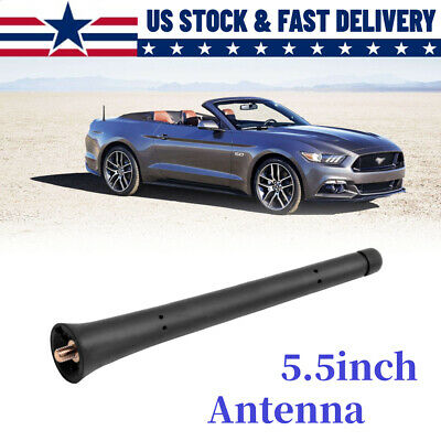 "5.5"" Radio AM/FM Signal Antenna Mast For Ford 2015-2020 Mustang Convertibles"