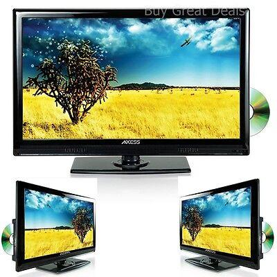 "13"" LCD LED DIGITAL TUNER TELEVISION HD TV +DVD PLAYER HDMI 12V CAR/BOAT/RV ACDC"