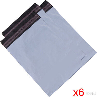 6 X MAILING BAG POSTAL MAILERS PACKAGE SHIPPING STRONG POLY MAIL BAG POST SACK