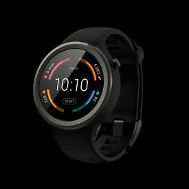 Moto 360 Sport smartwatch -- BRAND NEW