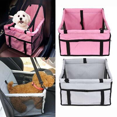 Portable Dog Car Seat Belt Booster Carrier Bag for Pet Cat Puppy Travel Safety Car Seat Carrier Bag