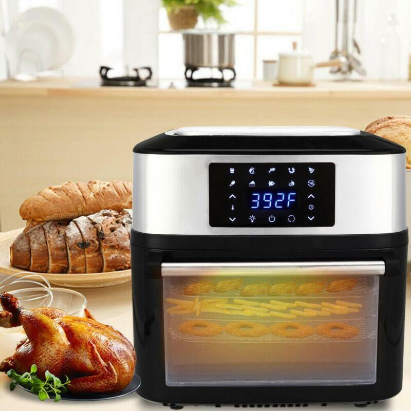 1800W 16L Big Capacity XL Air Fryer Oven All-In-One Plus Dehydrator Grill Home