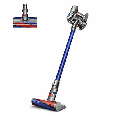 Dyson V6 Fluffy Cordless Stick Vacuum Cleaner Blue