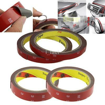 6/8/10/12/20MM* 3M Strong Permanent Double-Sided Super Self Adhesive Sticky Tape