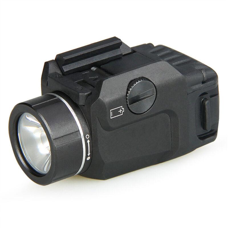 NEW TLR-7 Gun Mounted Flashlight 69420 Side Switch 500 Lumens -BLACK