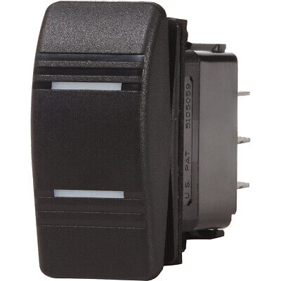 Blue Sea Systems 8300 Contura Switch Dpdt Black On-On