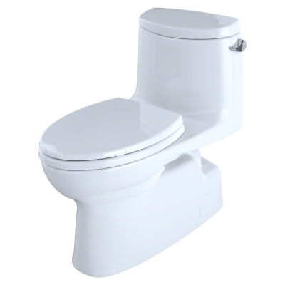 Toto MS614114CEFRG#01 1-Piece Elongated 1.28GPF Toilet w/ Do