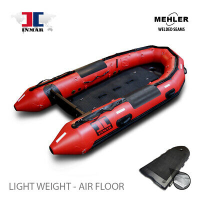 14 ft (430-SR-L-HD) INMAR Military Grade Inflatable Boat, Rescue equipment