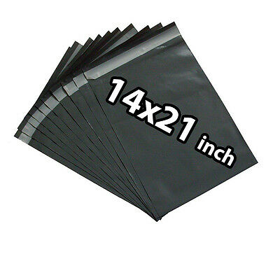 14x21 500X Grey Mailing Bags Strong Poly Postal Postage Post Mail Self Seal UKED
