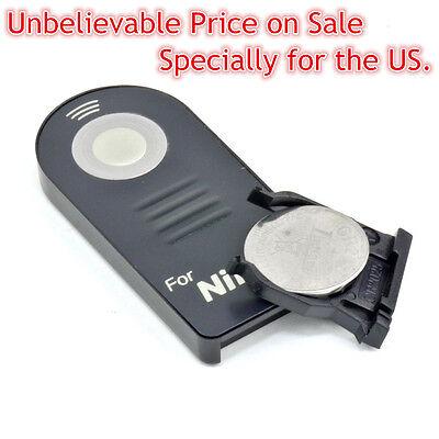 Infrared IR Wireless Remote Shutter Control fr Nikon ML-L3 D7000 D3200 D5100 D90
