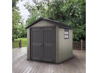 keter oakland garden shed 759 75ft x 9ft 287m x 229m x 242