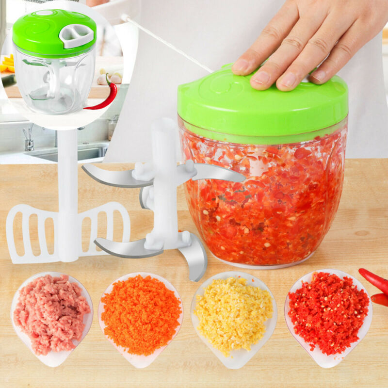 Kitchen Multi-Function Meat Machine Crusher Chopper Salad Cr