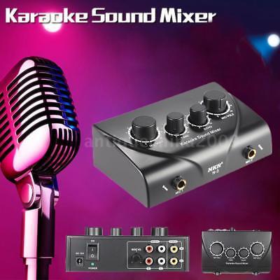 Karaoke Mixers - Mic Inputs on