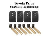 Toyota Prius Smart Key Remote Programming - Replacement Remote & Blade Key from £100