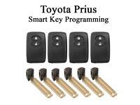 Toyota Prius Smart Key Remote Programming - Replacement Remote & Blade Key