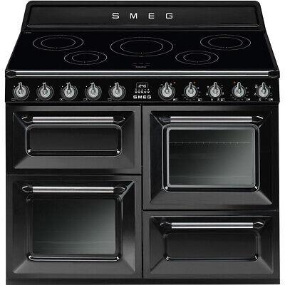 Used Smeg TR4110IBL 110cm Black  Range Cooker (JUB-30884) RRP £2599