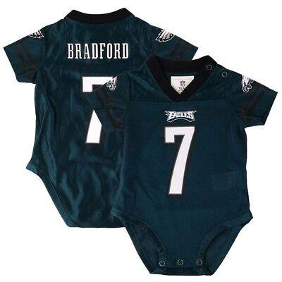 Sam Bradford NFL Philadelphia Eagles Teal Green Infant Newborn Jersey (Green Infant Nfl Jersey)