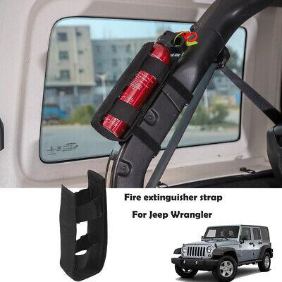 Adjustable Roll Bar Fire Extinguisher Mount Holder For Jeep Wrangler Cj Tj Jk Jl