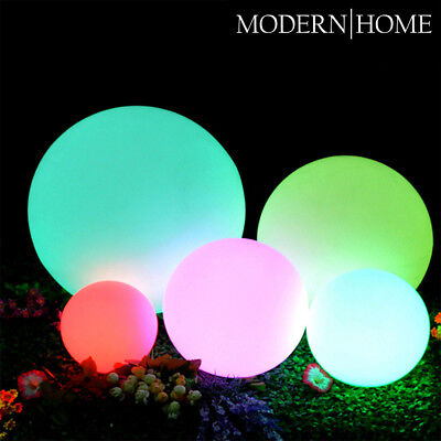 NEW! LED COLOR SPHERE - FLOATING LIGHT BALL - MOOD GLOWING ORB - WATER RESISTANT - Light Orbs