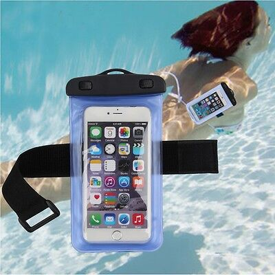 Universal Waterproof For Cell Mobile Phone Dry Bag Case Cover Underwater Pouch ()