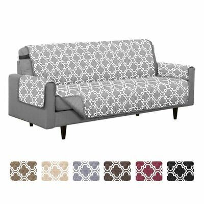 Reversible Quilted Furniture Protector Sofa Cover Slipcover Pet Dog Couch Mat