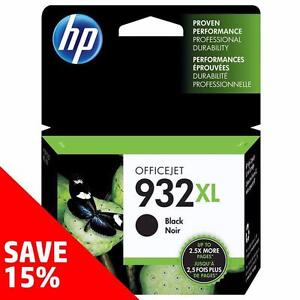Original HP 932/933-Ink Black (& Colour) - Buy 2 Direct from HP Save 15%