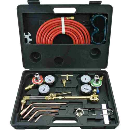 Gas Welding & Cutting Kit Victor Type Acetylene Oxygen Torch Set Regulator