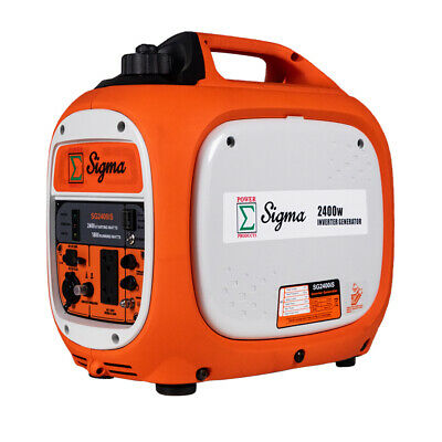 Miami Pickup Sigma 2400 Watts Surge Power Super Silent Inverter Generator