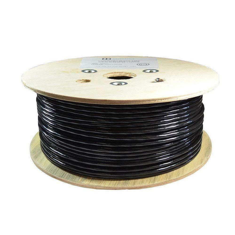 DRIPSTONE CAT6 500FT FTP DIRECT BURIAL CABLE PURE COPPER OUTDOOR WATERPROOF