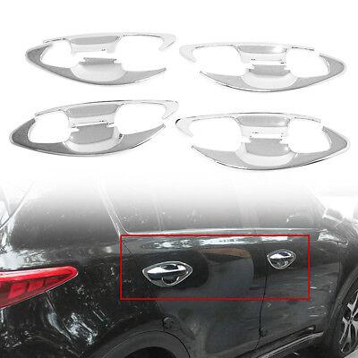 Chrome Door Bowl Cover Garnish Molding Trim C090 For KIA 2017-2020 Sportage QL