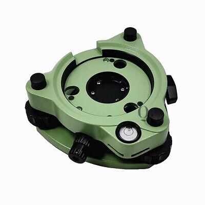 Green Three-jaw Tribrach With Optical Plummet For Leica Trimble Sokkia Topcon