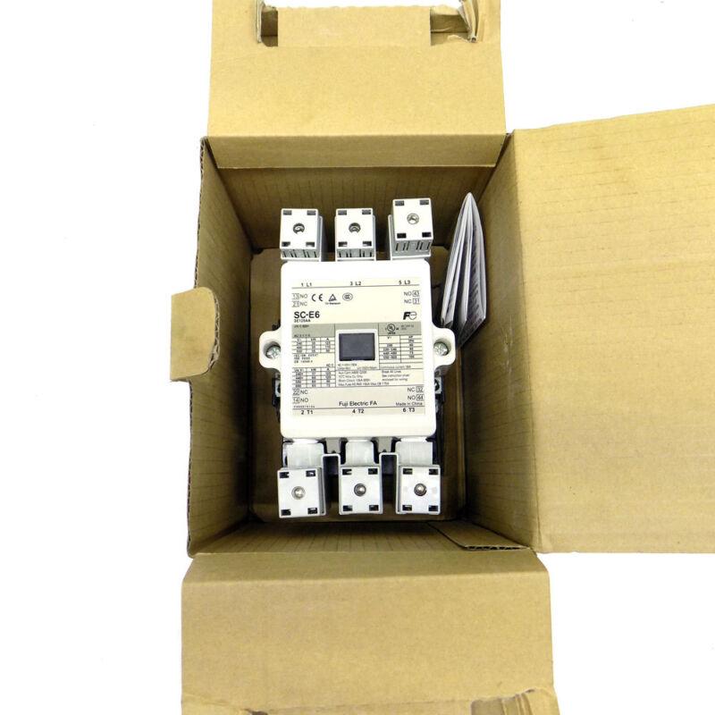 Fuji Electric SC-E6 Magnetic Contactor SE125AA-E 125A 24V AC/DC Low Consumption
