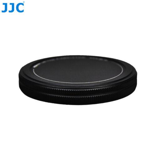 JJC 37 40.5 46 49 52 55 58 62 67 72 77 82 mm  Metal Filters Protector Stack Cap