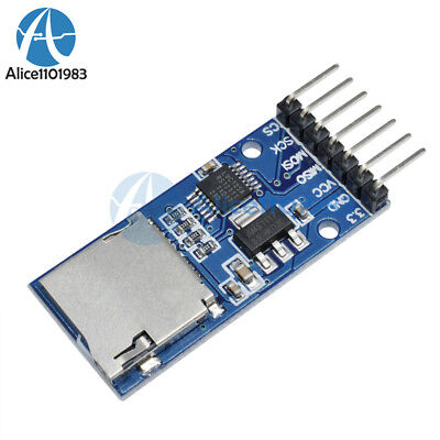 2pcs Micro Sd Tf Card Storage Memory Module Spi Level Conversion For Arduino