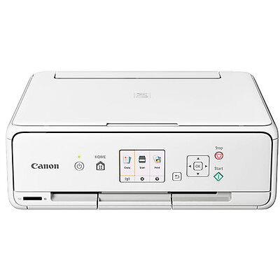 Canon Wireless Color Photo Printer with Scanner & Copier (White)